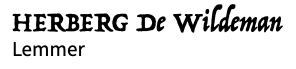conceptlogo de Wildeman