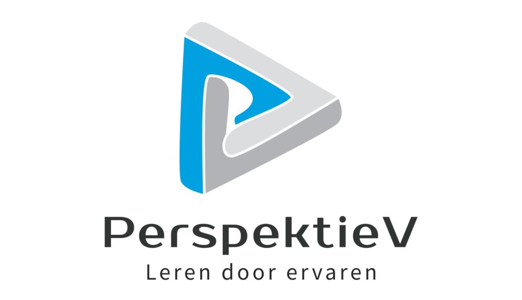 Logo PerspektieV wit